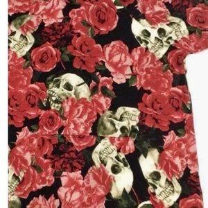 3xl Skull Roses Lularoe Amber